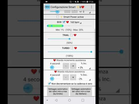 BLEvo Per Android: Configurazione Smart HR E Smart Power