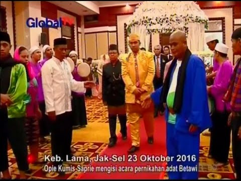 Isi Acara Pernikahan Betawi, Sapri-Opie Jadi Palang Pintu - Obsesi 24/10