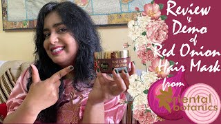 Review Demo of Oriental Botanics Red Onion Hair Mask Oriental Botanics Red Onion Hair Products