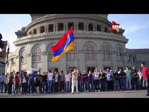 В Ереване продолжаются митинги против повышения цен на электроэнергию