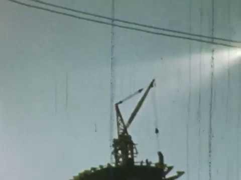 8mm footage of the building of the Seattle Space Needle, 1962