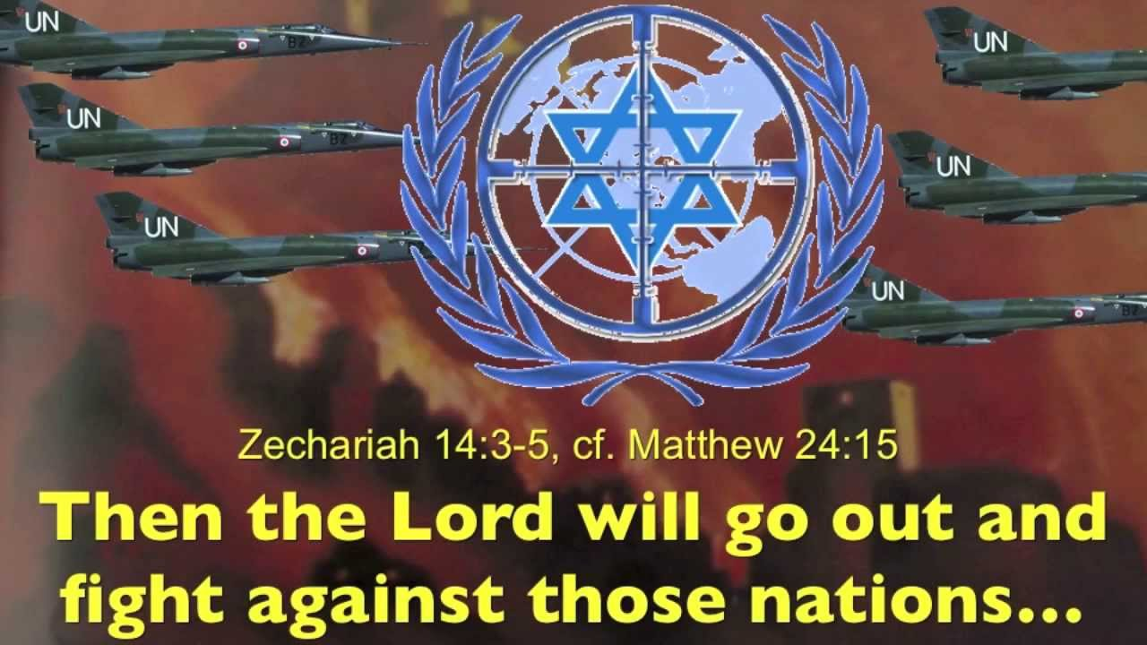 Jesus Wars Against The United Nations For Israel