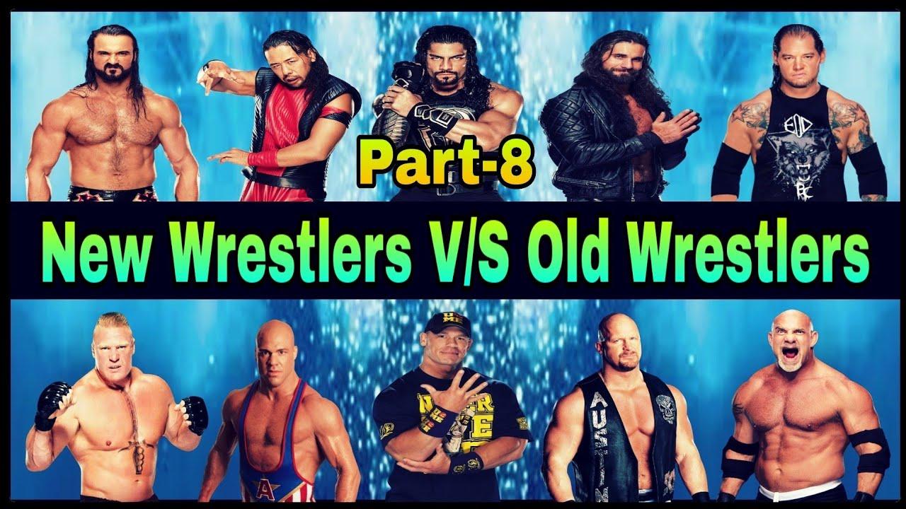 WWE New Wrestlers VS Old Wrestlers Part-8 || Austin, Cena, Goldberg, Reigns, Kane, Fiend & Rollins
