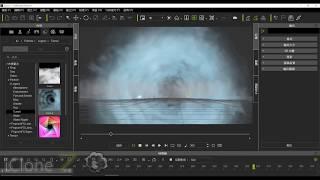 iClone教學067 iclone7 粒子基礎設定 貼圖與影片置換