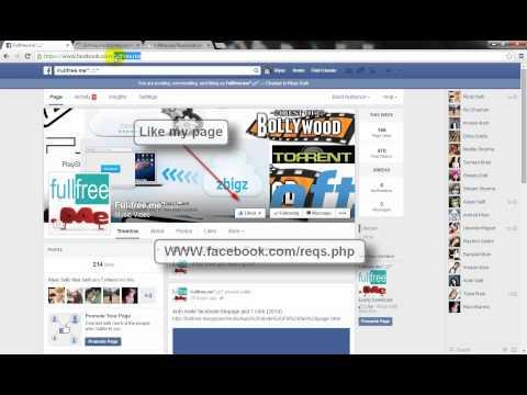 Auto accept facebook friends request Aug 2014 100% work no password