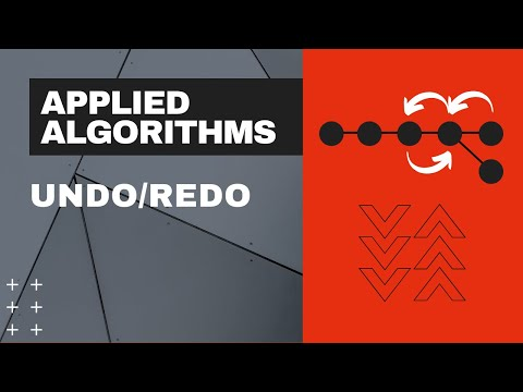 Applied Algorithms - (01) - Undo/Redo