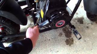 How to change the speed limiter on the Motovox MBX10 Minibike