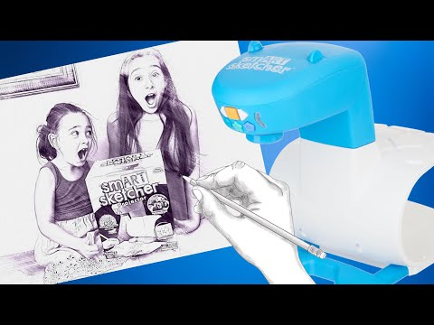 What did we think of the smART Sketcher Projector? What did we draw?