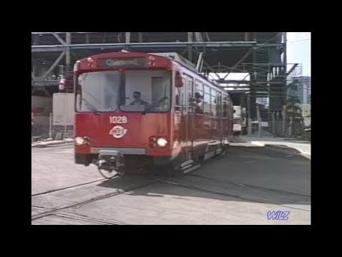 San Diego Trolley & Amtrak Sta. 1988