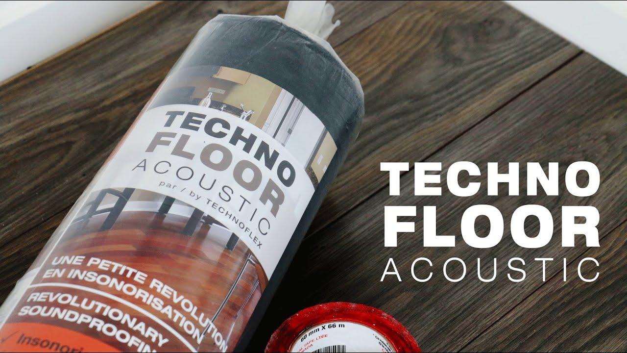 Technoflex Introducing Technofloor Acoustic Youtube