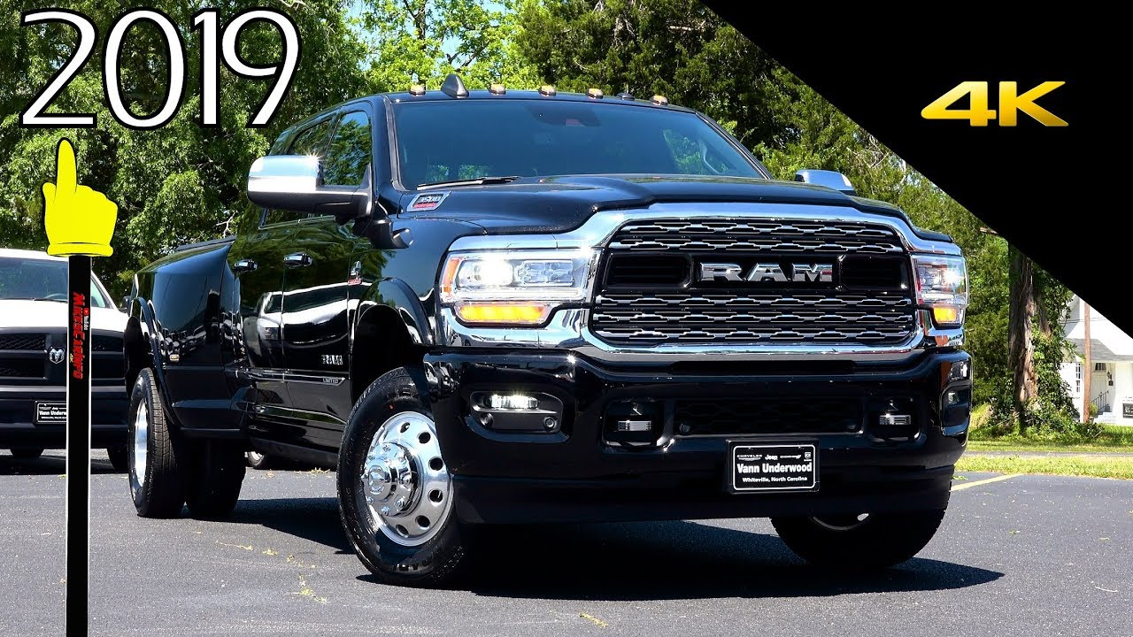 2019 Ram 3500 Limited Mega Cab 4x4 Ultimate In Depth Look In 4k