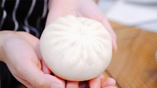 素包子/就是几个简单的蔬菜,就能做出如此鲜美的包子? Chinese vegetable fills steamed bun/bao