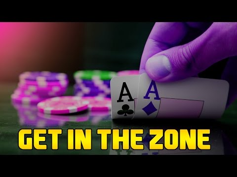 Get into the Zone for Poker, Golf, Tennis Players