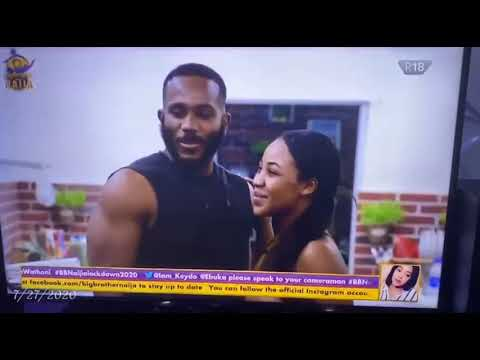 Download Kiddwaya and Erica Big Brother Naija 2020 Kissed Passionately