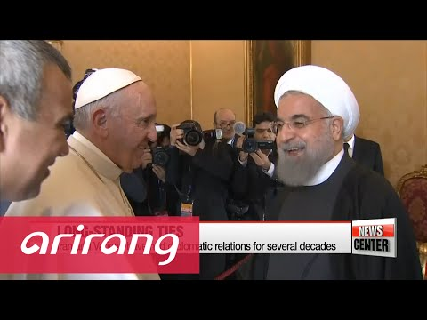 Iran Pres. Rouhani tours Europe, offers message of peace