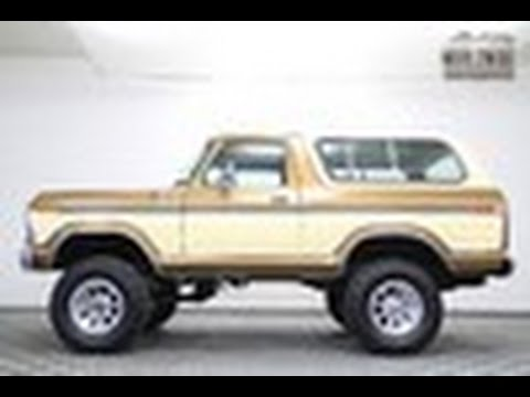 1979 FORD BRONCO Custom 4x4 Immaculate Show Or Go