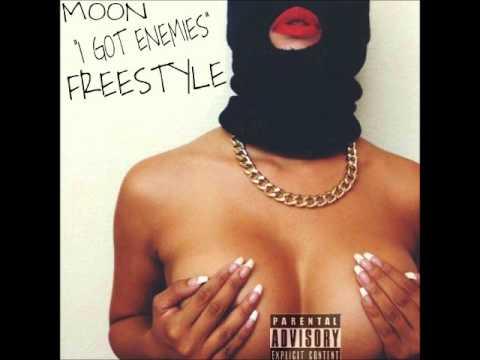 """Moon """"I GOT ENEMIES"""" Drake energy freesyle"""