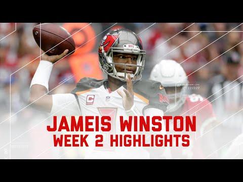 Every Jameis Winston Throw | Buccaneers vs. Cardinals | NFL Week 2 Player Highlights