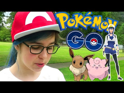 POKEMON GO GAMEPLAY | GETTING STARTED | RADIOJH AUDREY