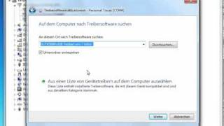 TK5000 - Installation - USB Treiber Win 7 (64BIT)