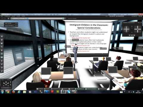 AUZEF Dekanı ve İSUZEM Müdürü Prof.Dr.Alper CİHAN İ.Ü.Second Life Platformu'nda Öğrencilerle Buluştu