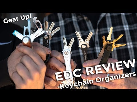 Key Organizers | Gear Up! (Ep.11) | EDC Gear Review | KeySmart, Orbitkey, Keyport