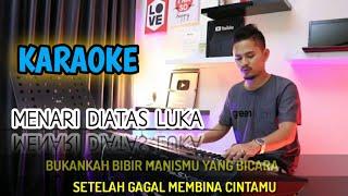 MENARI DIATAS LUKA (Karaoke/Lirik) || Dangdut - Versi Uda Fajar