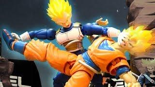 Goku VS Vegeta Stop-motion