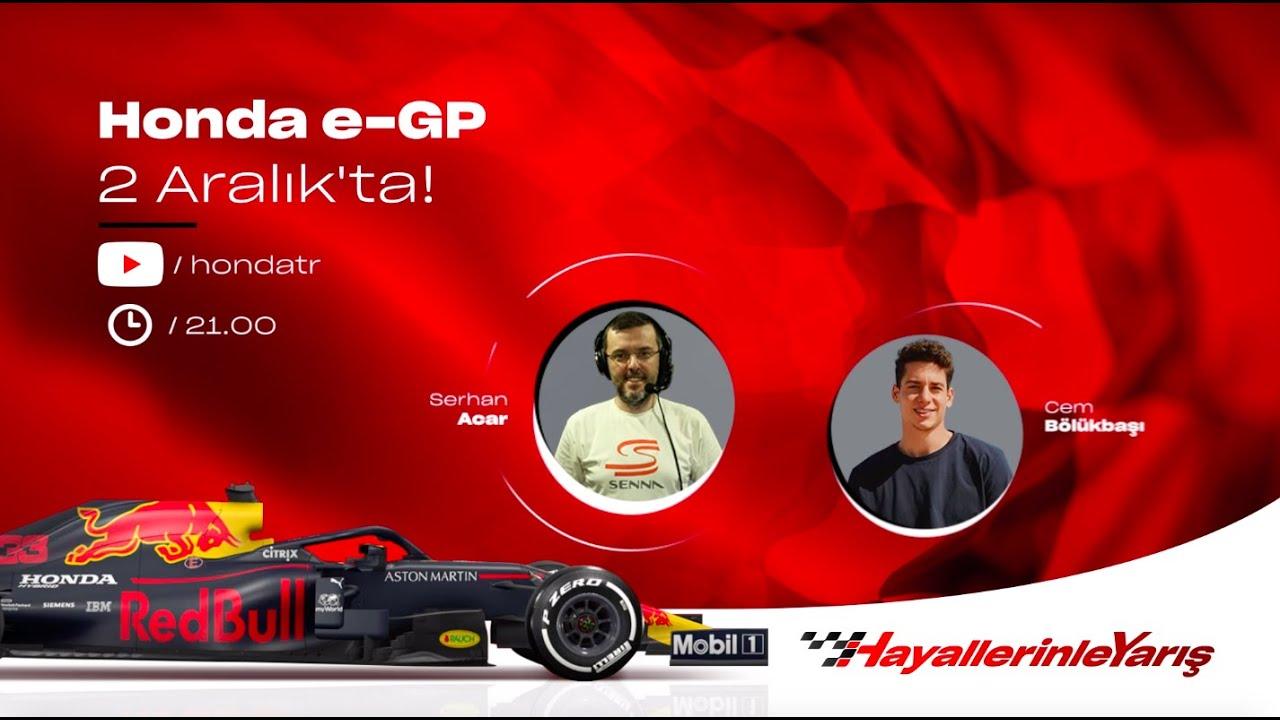 #HayallerinleYarış l Honda e-GP 2 Aralık'ta!
