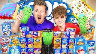 BROTHERS TRY EVERY FLAVOUR OF POP TARTS AND BLEND THEM