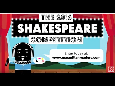 The 2016 Macmillan Readers Shakespeare Competition: Good Luck from Chris Hadfield!
