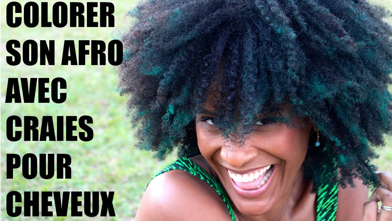 3 colorations temporaires pour cheveux crpus olivia rose - Coloration Naturelle Cheveux Crpus