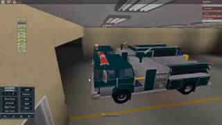 Roblox-Stillcreek Fire department Engine 1 responding to a AFA and returning
