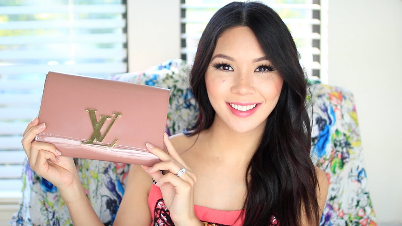 Louis Vuitton Louise Review What Fits Inside Youtube