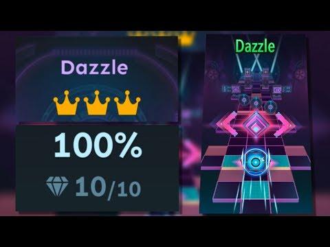 Rolling Sky Bonus lv.13 Dazzle 100% Clear - All Gems & Crowns | SHA