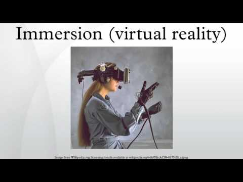 Immersion (virtual reality)