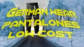Motovlog #44, Pantalones German Wear Low Cost super calentitos.