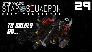 "StarMade: STAR SQUADRON | 29 | ""Black Hole Revelations"""