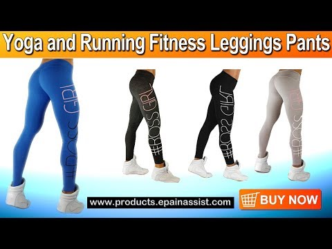 Women Yoga Pants High Elastic Fitness Sports Leggings
