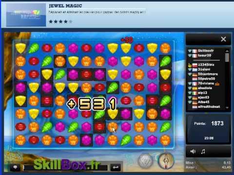 Jewel Magic en ligne, la vidéo de Skill7