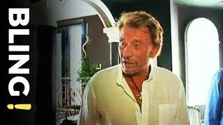 Johnny dans sa villa de Los Angeles