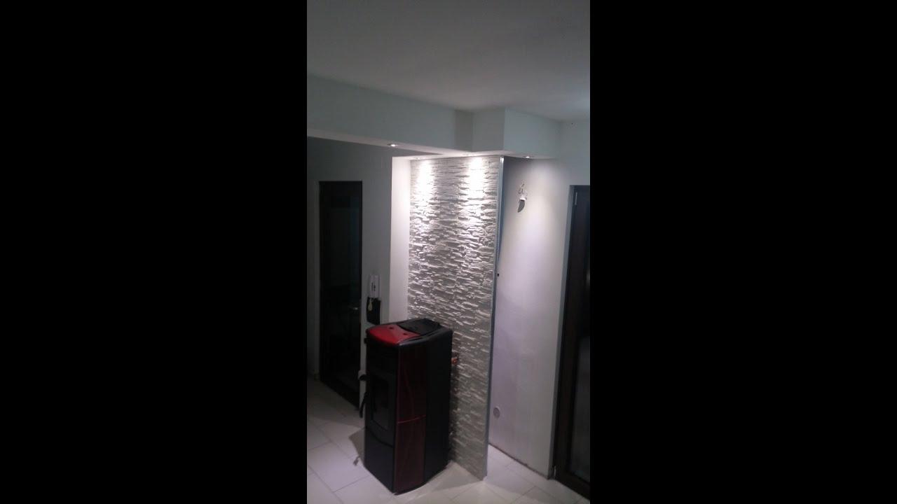 Installazione stufa idro e costruzione parete e veletta in - Installazione stufe a pellet idro ...