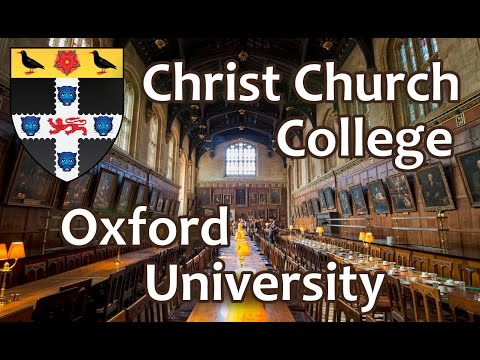 122. Колледж Христа, Оксфордский Университет. Christ Church College, Oxford University. OxfordInside