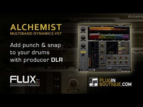 Alchemist Multiband Dynamics - Add Snap to Your Drums - With Producer DLR - 동영상