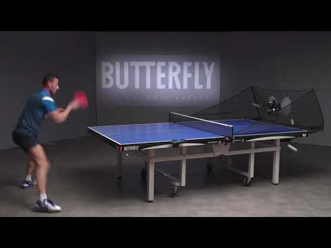 How To Use The Butterfly AMICUS Expert | Table Tennis Robot