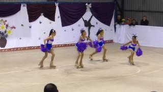 Grupal Cuarteto gala patinaje artístico Ankalef Talcahuano