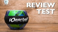 Powerball Reviev/Test - Gyroscope Exercise - FitMit