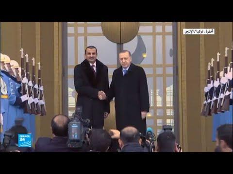 إردوغان يستقبل أمير قطر  - نشر قبل 3 ساعة