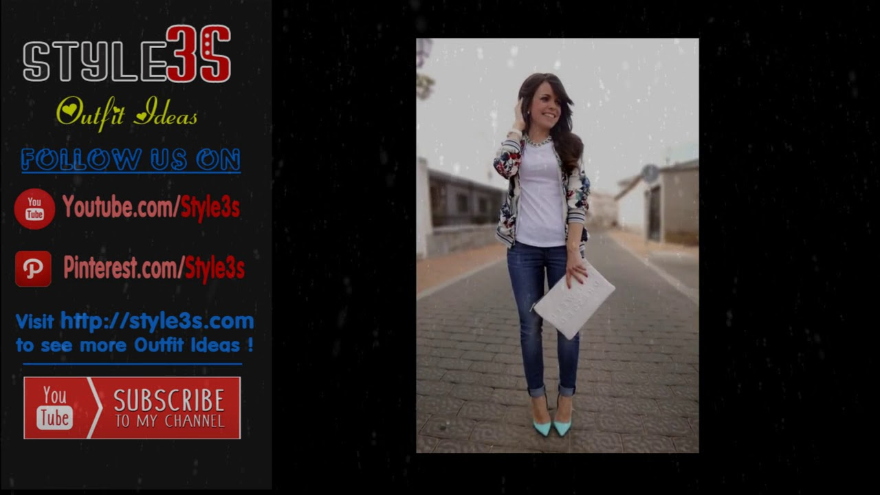 e5b1b87e399 100+ Casual outfit in jeans for Women - YouTube