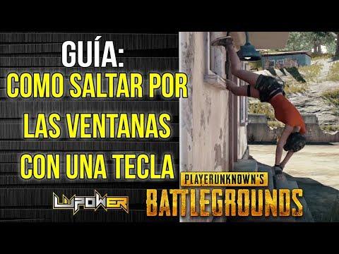 GUÍA: Saltar Ventanas Con Una Sola Tecla - PLAYERUNKNOWN'S BATTLEGROUNDS